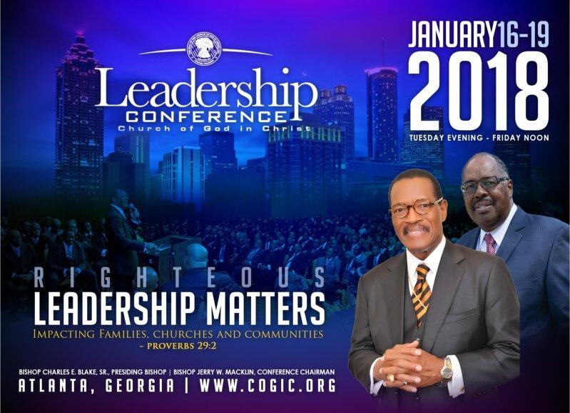 Church of God in Christ 2018 Leadership Conference (Atlanta