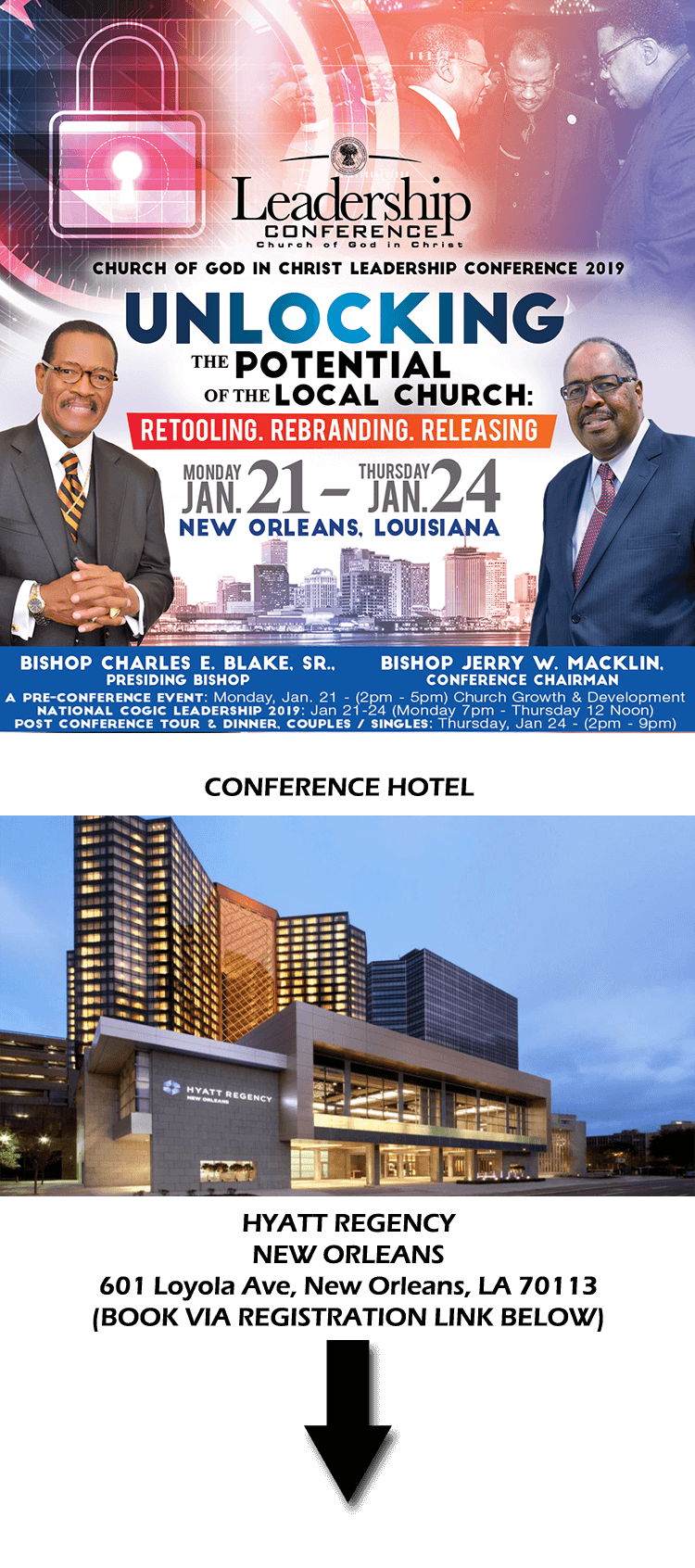 2019 COGIC Leadership Conference (New Orleans, LA