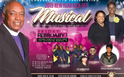 Jurisdictional New Year's Kick-Off Musical 2019