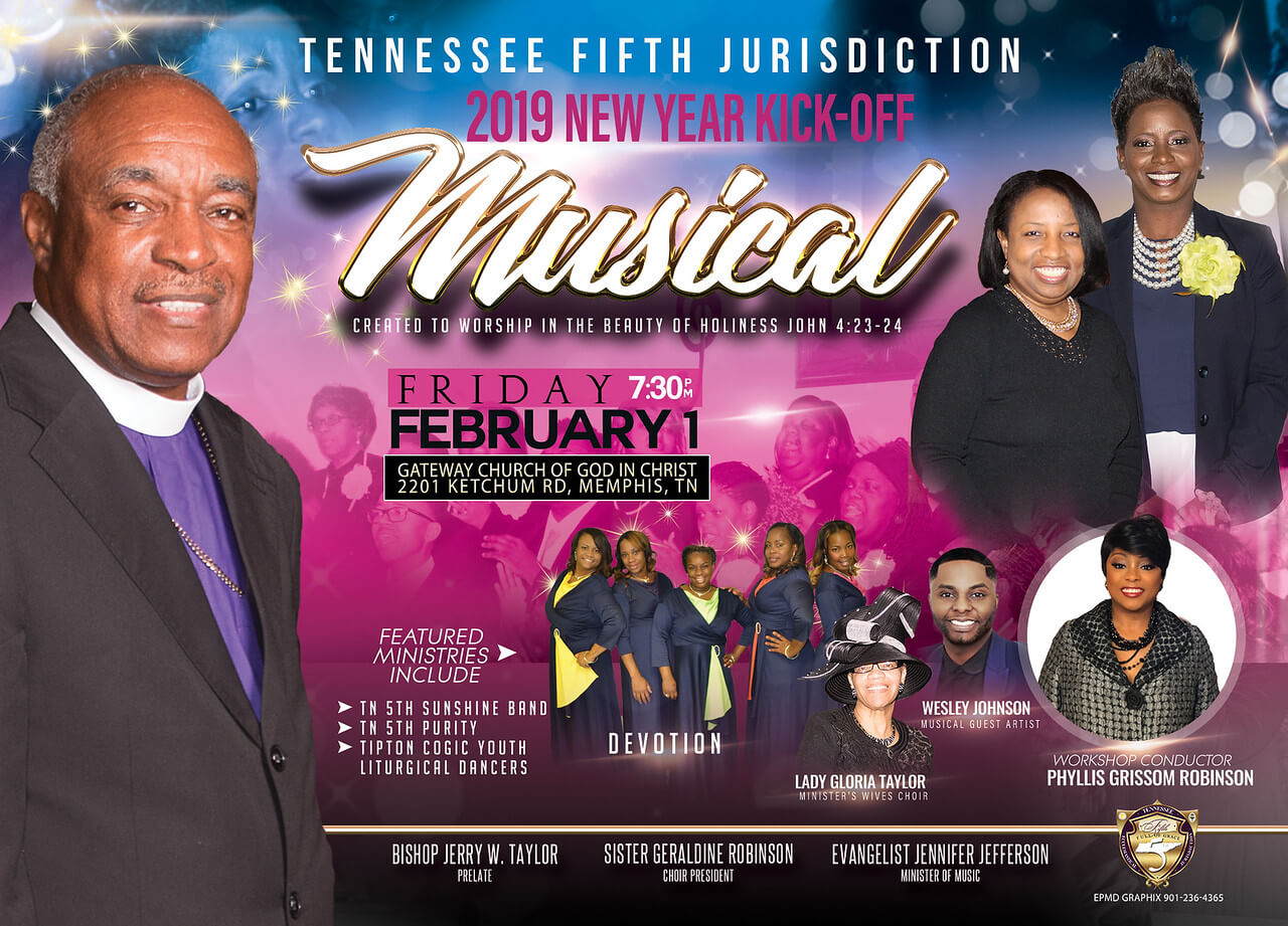 Jurisdictional New Year's Kick-Off Musical | Tennessee Fifth